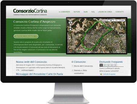 Sito Consorzio Stradale Cortina d'Ampezzo